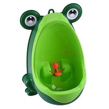 Baby Junge Toilettentrainer Kinder Töpfchen Toilette Pinkeln Urinal Frosch Form
