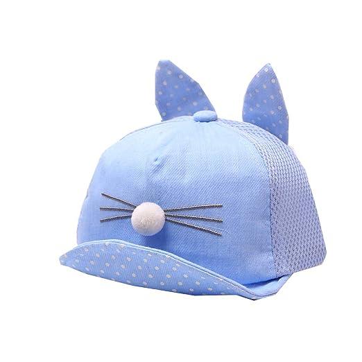 9e785c357 Amazon.com: UCQueen Baby Caps Baseball Cap Sun protetoin Cute Kids ...