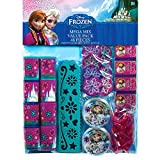 Amscan Disney Frozen Birthday Favour Toys and Prize Giveaway (48 Piece), Multi Color, 11 1/2'' x 9''