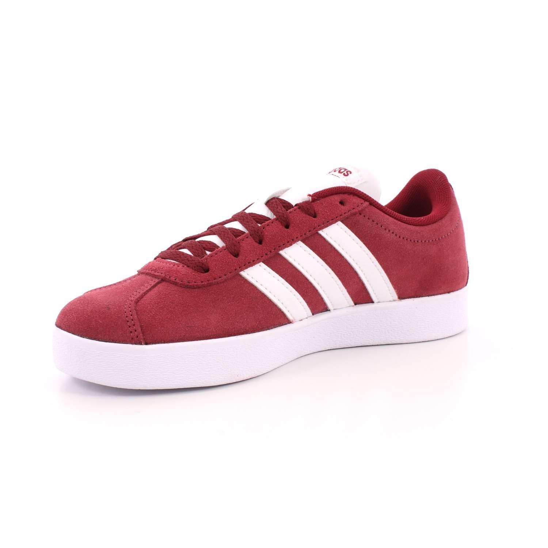Adidas Unisex-Kinder VL Court (Buruni/Ftwbla/Gridos 2.0 K Gymnastikschuhe, Weißszlig; Rot (Buruni/Ftwbla/Gridos Court 000) 13c2aa