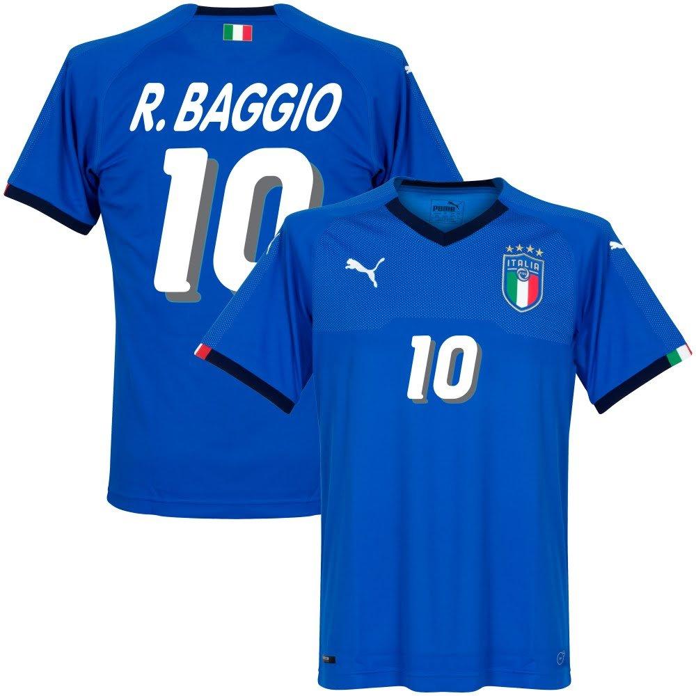 Italien Home Trikot 2018 2019 + R. Baggio 10 (1994 Style)