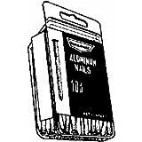 "Nichols Wires Cedar Fence Nails 1-3/4 "" 0.080 "" Smooth Shank Aluminum Box 1/4 Lb."