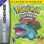 Pokemon Leaf Green Version - Game Boy...