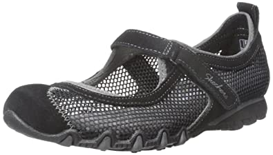 Skechers Women's Bikers Herb Garden Mary Jane Flat