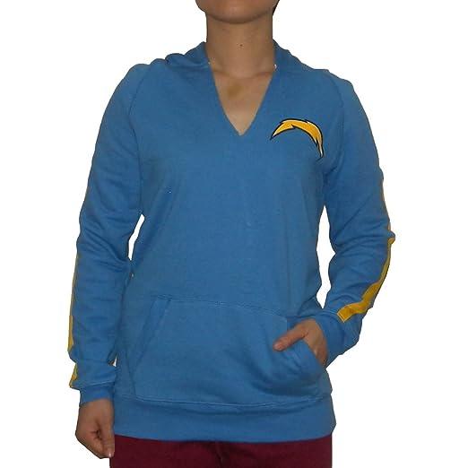 Pink Victoria s Secret Womens NFL San Diego Chargers Hoodie Jacket Medium  Blue 3b8f4906d