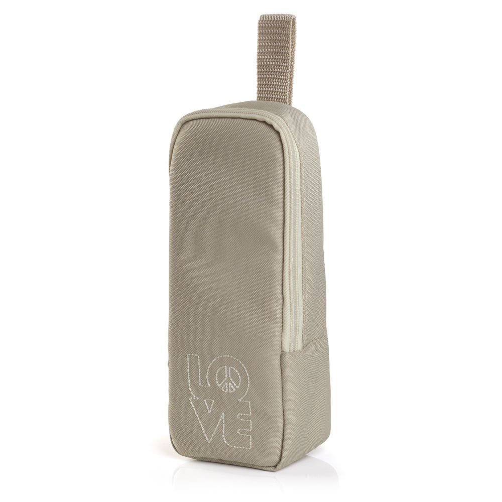 Your Baby 10426 Isoliertasche Love und Peace, beige
