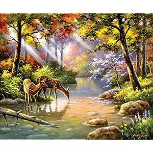 Sunsout 36597 Kim Doe Re Me Creek Puzzle 1000 Pezzi