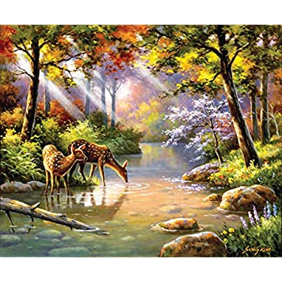 Sunsout 36597 Kim Doe Re Me Creek Puzzle 1000 Pezzi