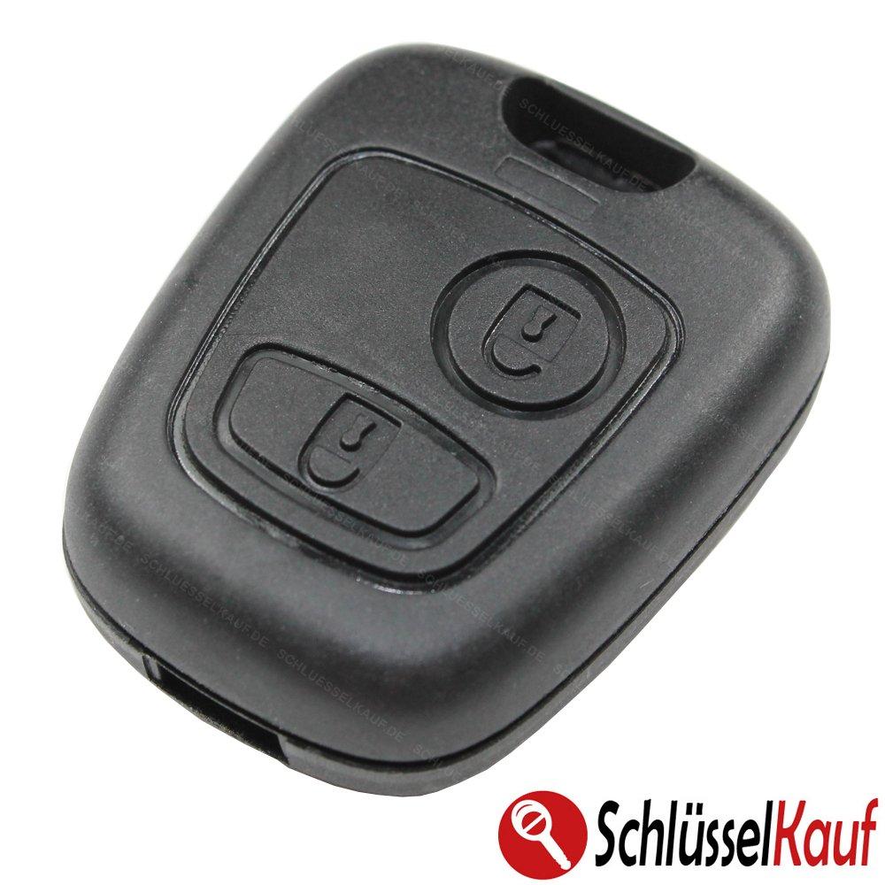 Schl/üsselgeh/äuse Geh/äuse Schl/üssel Fernbedienung mit Batterie Funk 2 Tasten Neu