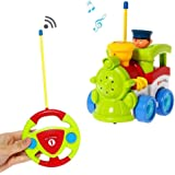 Liberty Imports Cartoon R/C Train Car Radio Control Toy for Toddlers (English Packaging)