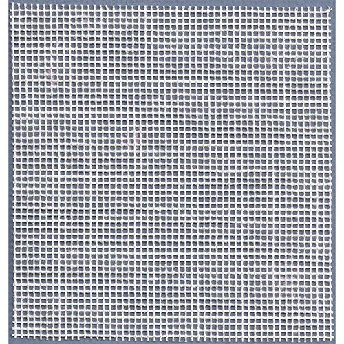 "M C G Textiles Needlepoint Interlock Canvas 18""X20""-12 Mesh White"