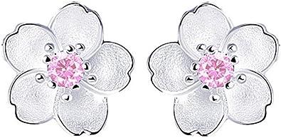 1 Paires Femmes Dame Fille Boucles d/'Oreilles Clous Fleur Forme Fashion Charme Bijoux Cadeau
