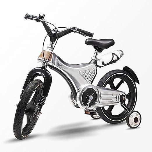 LVZAIXI Bicicleta para niños Bicicleta para niños de 3-7 años con ...
