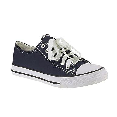 20005 Kultige Sneakers low Sportschuhe Unisex Textil Schürschuhe Damen Herren