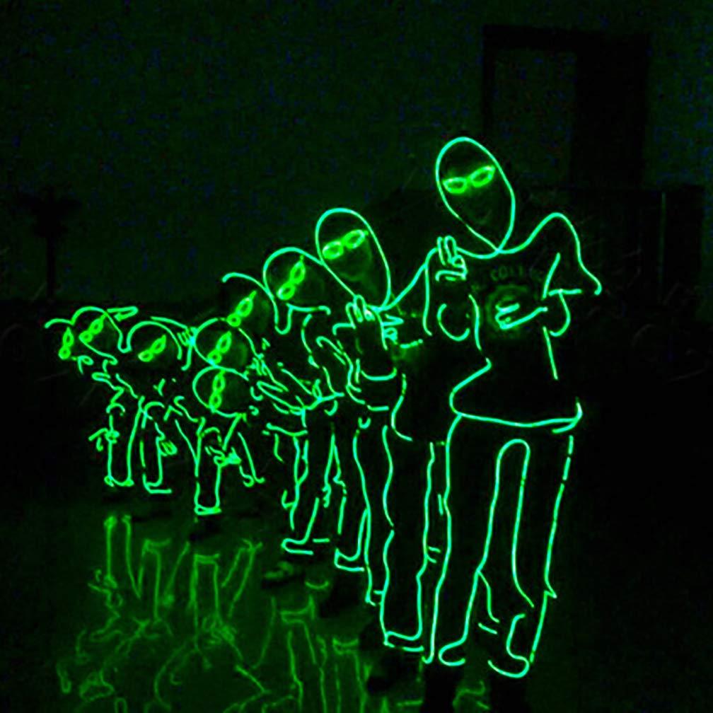 UGUAX El Wire - Disfraz de Baile Fluorescente para Hombre con ...