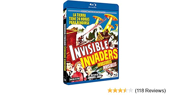 Amazon.com: Invasores Invisibles BD 1959 Invisible Invaders [Non-usa Format: Pal -Import- Spain ]: Movies & TV