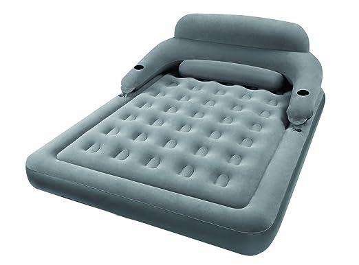 Intex - Colchón Hinchable y sofá 2 en 1: Amazon.es: Hogar