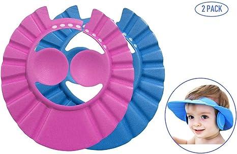 Bllomsem 2PCS Sombreros gorras de baño para bebés, Sombreros de ...
