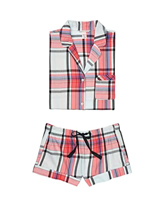 ad6c3d7689d Victoria's Secret Flannel Boxer PJ at Amazon Women's Clothing store:
