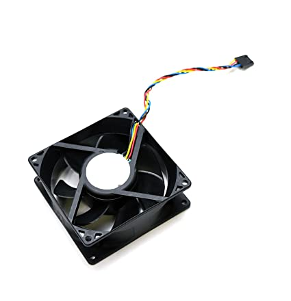 amazon com genuine oem dell fan cable assembly 92x32mm dc12v rh amazon com Fan Wiring Red Black White Basic Wiring Ground White Black Red