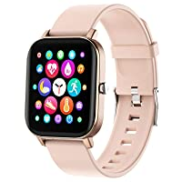 Smart Watch, FirYawee Smartwatch for Android Phones and iOS Phones,Fitness Tracker Waterproof IP68 with Heart Rate Monitor and Sleep Monitor,Step and Distance Counter,Smart Watch for Men Women
