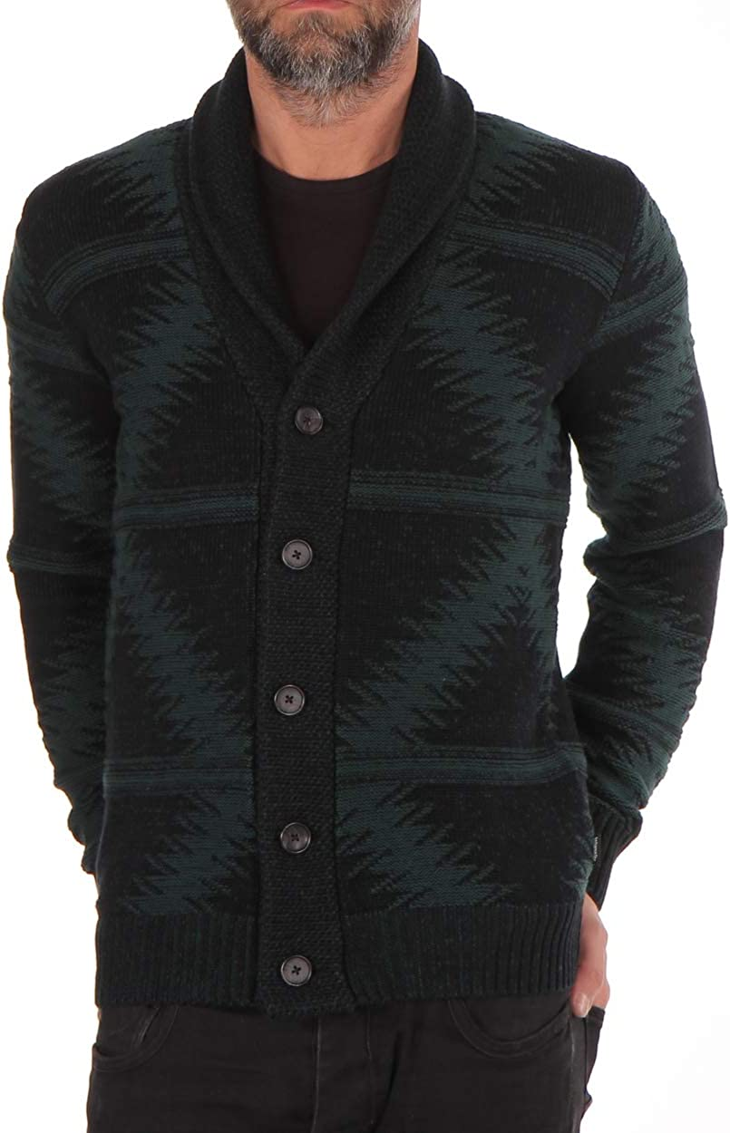 Gilet Wrangler Chunky Col V Manches longues Homme