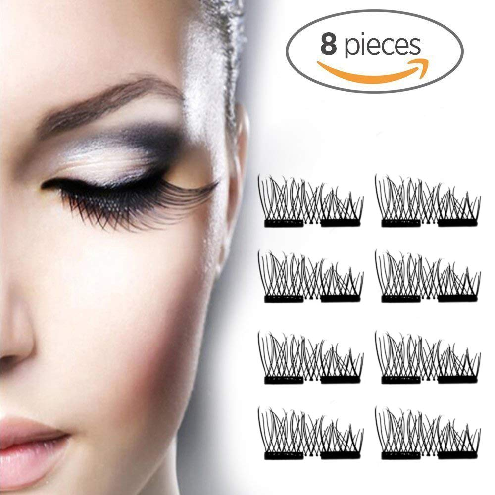 Amazon com : Crush evil Magnetic Eyelashes Dual Second Lash