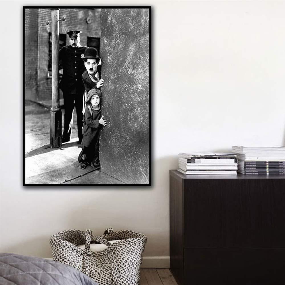 RTCKF Cartel de Arte película en Blanco y Negro HD Imprimir ...