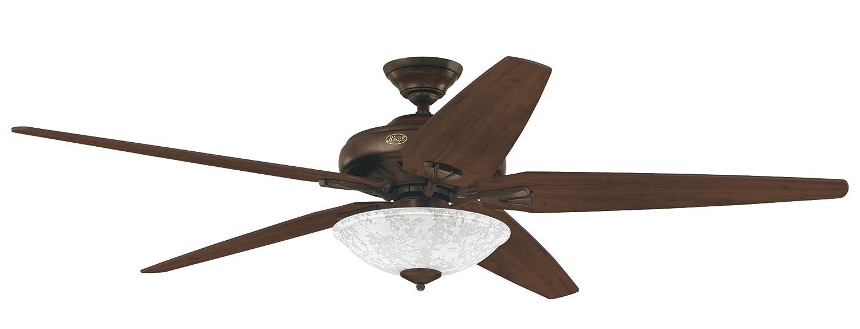 Hunter 23803 70 Grand Vista Ceiling Fan Cocoa W Light 5 R Distressed Walnut Blk Blades Ca Tools Home Improvement