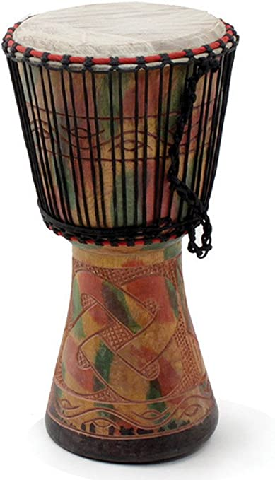 """Medium 16-18/"""" Delivery In About 8 Days USA Genuine African  D/'Jembe Drum"""