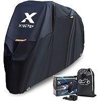 XYZCTEM Funda impermeable para motocicleta, extra resistente, grosor 210D Oxford, protección para todas las estaciones…