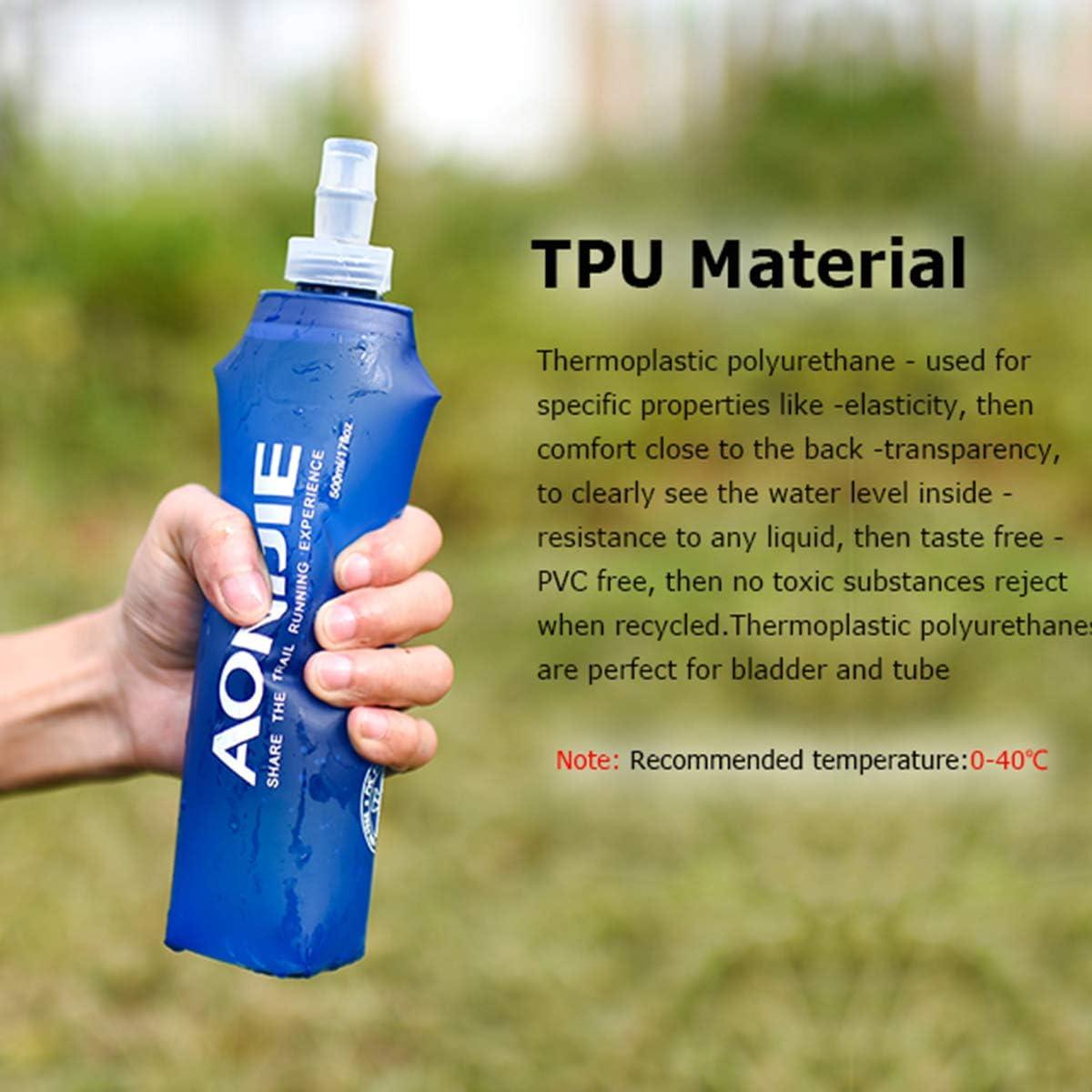 AONIJIE 250ML Folding Bottle, Aonijie, Aonijie Malaysia, Aonijie Folding Bottle, Aonijie Hydration Bladder, Aonijie Running Foldable Water Bottle