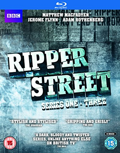 Ripper Street (Series 1-3) - 8-Disc Box Set ( Ripper Street - Series One, Two & Three (24 Episodes) ) [ Blu-Ray, Reg.A/B/C Import - United Kingdom ]