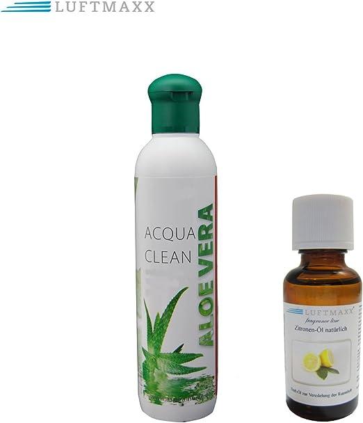 Aloe Vera Aroma plástico + 1 x Aire Maxx aceite aromático Limón ...