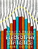 Elementary Statistics School Edition, Mario F. Triola, 0805301291