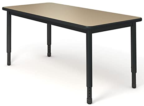 Paragon Furniture AWR2060 179 F P Two Station All Welded Desk Table Top,  Flannel