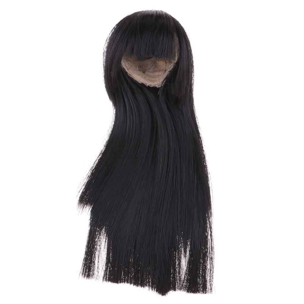 BJD Doll 1//3 9-10 Wig Waist-length Hair High Temperature Fiber For Girl Boy Grey