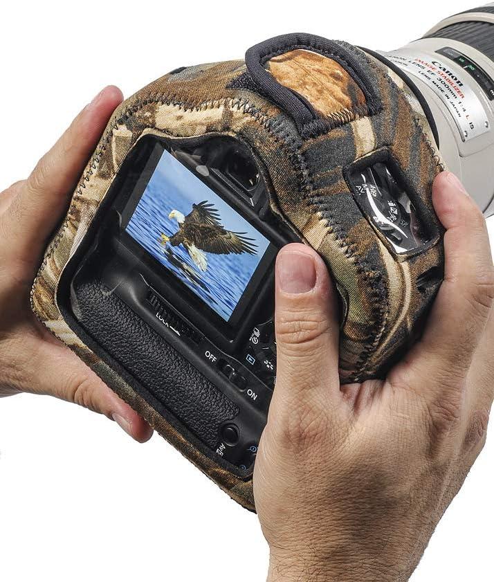 lcbgcgcbdc Clear Back Digital Camo with Grip LensCoat Bodybag Case Neoprene Camera Body Bag Case Protection Camouflage Bodyguard Compact Cb