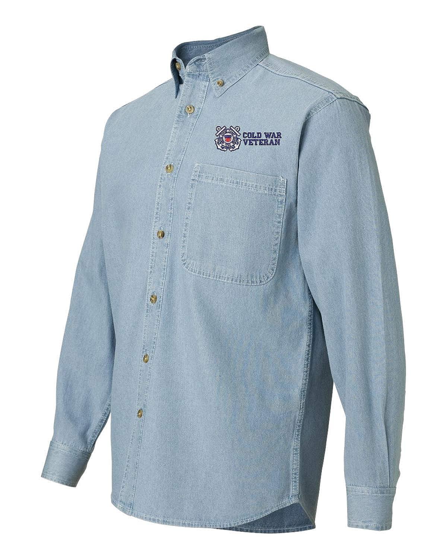 U.S Coast Guard Cold War Veteran Denim Shirt