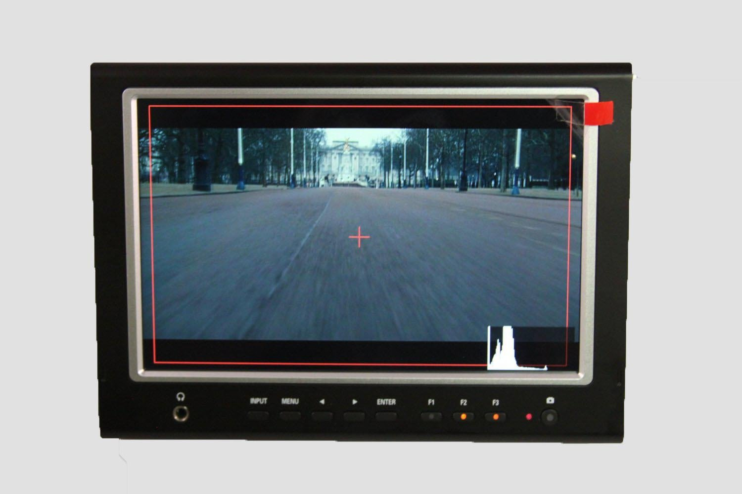 LILLIPUT 7'' 664/O/P Slim Camera-top Monitor with Hdmi/in&Out+AV in W/Peaking Zebra Exposure Filter +IPS Broadcast Quality for DSLR & Full Hd Camecorder by Lilliput