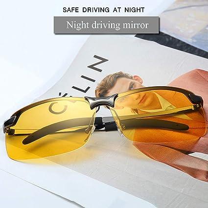 5b9cb67f071 Amazon.com: Driving Glasses, LtrottedJ 2019 New HD Aluminium ...