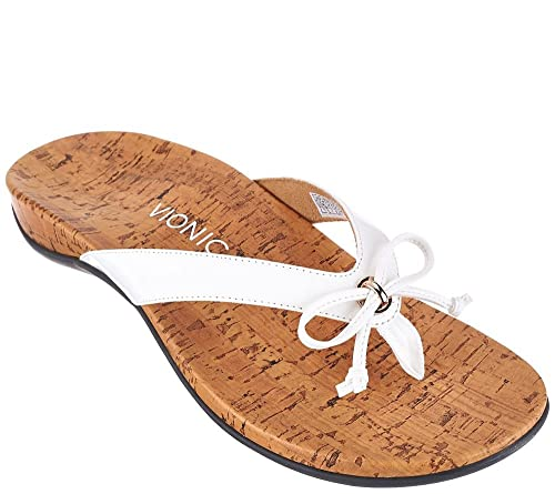 1dbef917bf67 Vionic Women s Rest Cassie White Sandals UK 3 EU 36 US 5  Amazon.co.uk   Shoes   Bags