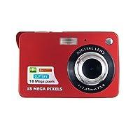 Digital Camera,CamKing CDC3 2.7 inch TFT LCD HD Mini Digital Camera (Red)