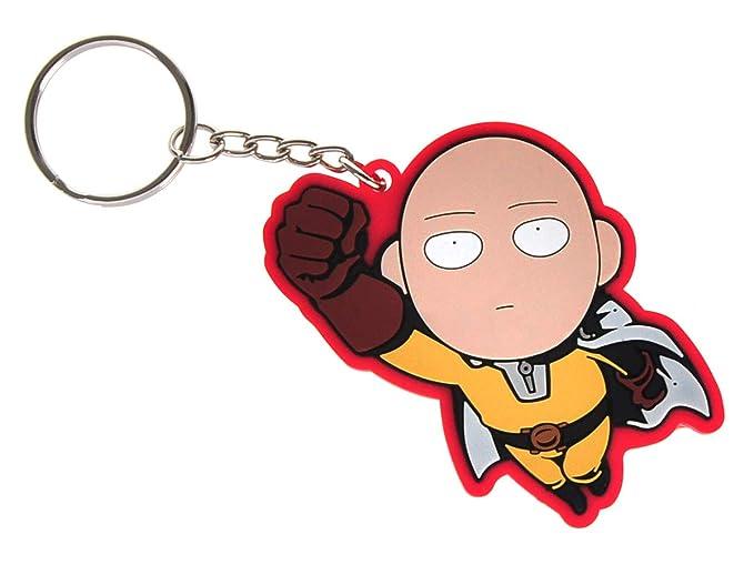 CoolChange Llavero de One Punch Man con Figura Chibi de ...