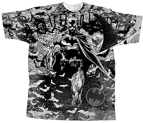 Batman Urban Legend All Over Print Mens T-Shirt (Man Legend T-shirt)