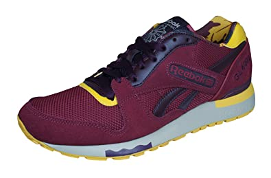 baa5a3b7b Reebok Classic GL 6000 ANE Mens Sneakers Shoes-Red-9