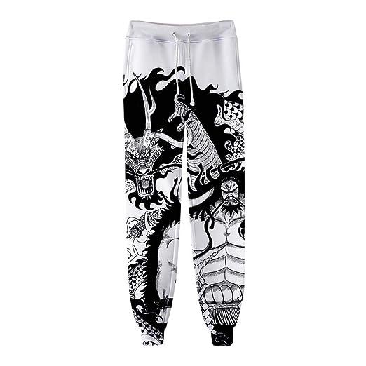 Zcbm 3D Impresión One Piece Kaido Gráfico Hip Hop Pantalones ...
