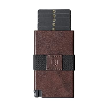 ekster senate leather card holder wallet rfid blocking quick card access - Leather Card Holder Wallet