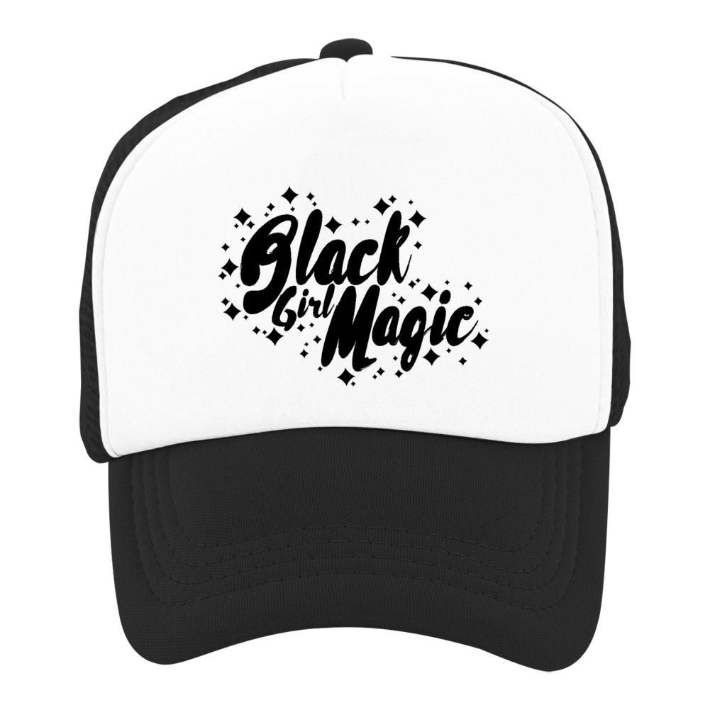 Kids Baseball Cap Black Girl Magic Classic Mesh Outdoor Hat