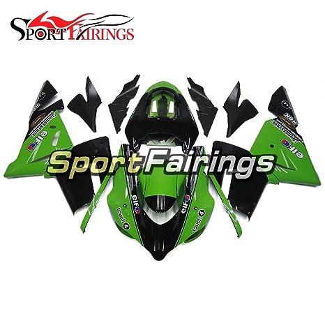 sportfairings verde Monster Inyección de plásticos ABS Kits de carenado para Kawasaki ZX10R año 2004 2005